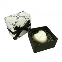 Jabones Caja Blanco y Negro
