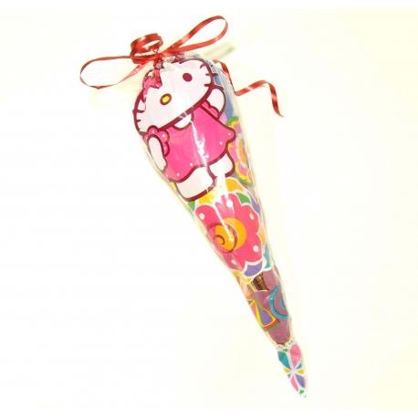 Bolsa Cono de chuches Hello Kitty