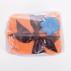 Toalla forma pastel pequeño