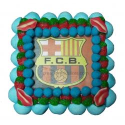 Tarta Escudo Barcelona