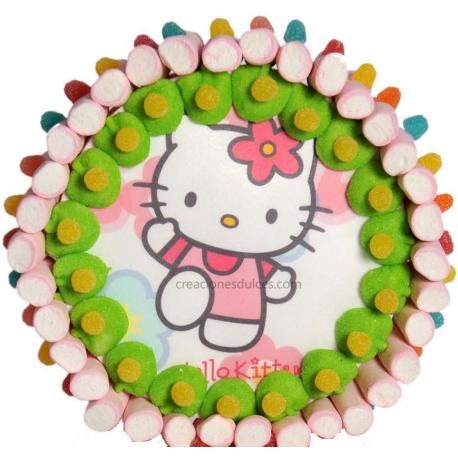 Tarta Hello Kitty base 30cm
