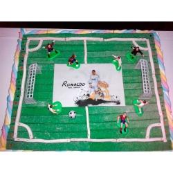 Tarta Campo de Fútbol