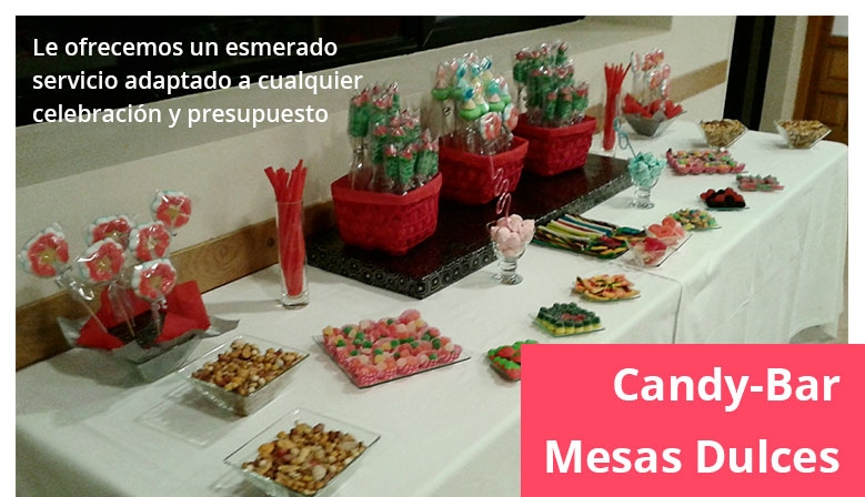 Candy Bar / Mesas Dulces